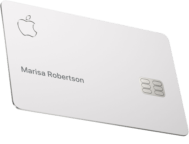 Apple Card shows signs of wear – because of high sensitivity