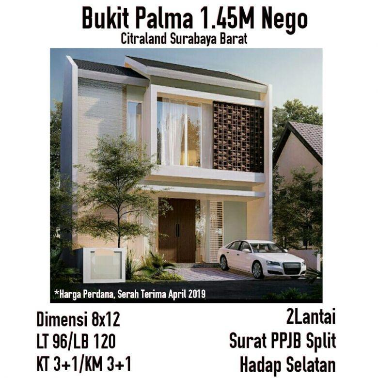 Rumah Bukit Palm Citraland Minimalis Modern 2 Lantai Harga Perdana