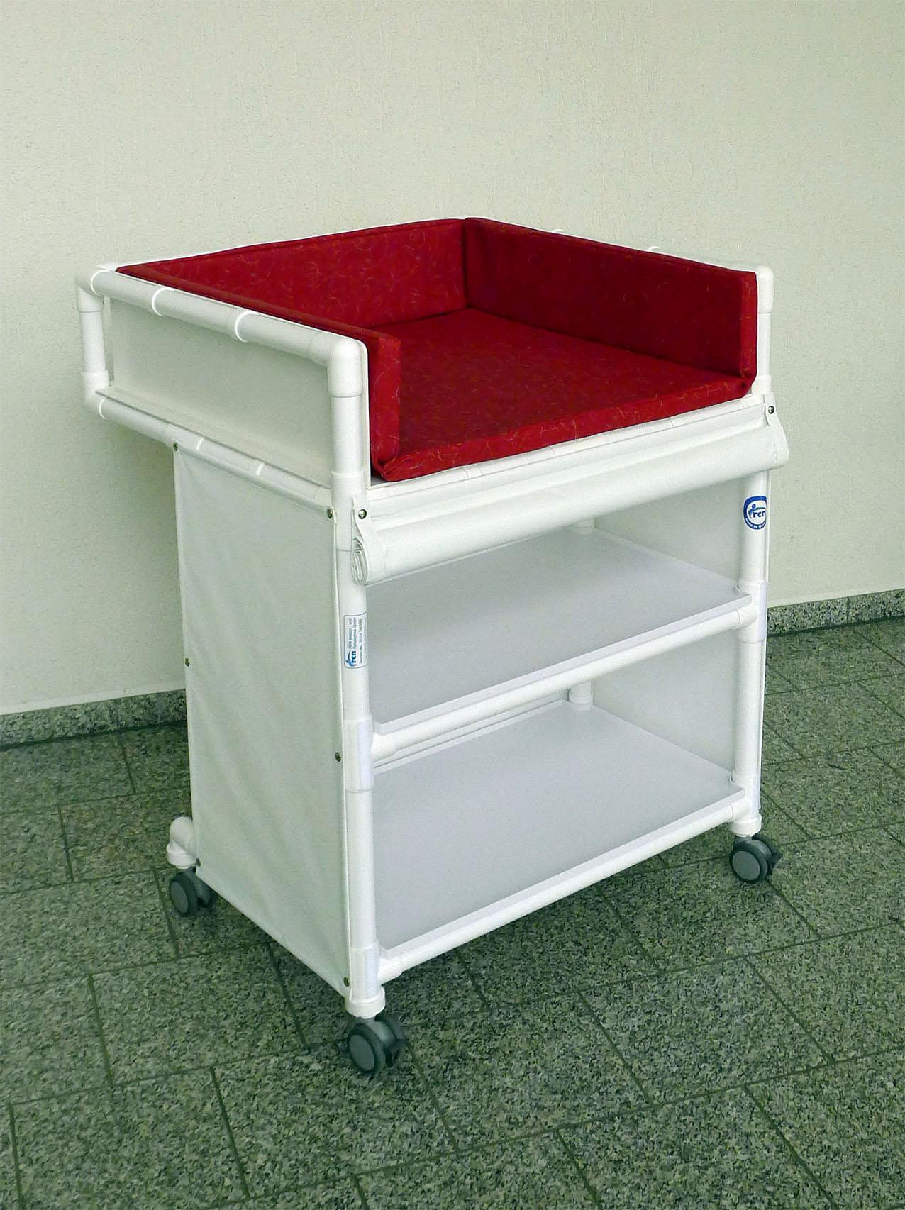 Klinik Wk5 Rollbare Wickelkommode Wickeltisch Rcn Kaufen Bei Www Hygienehilfen De