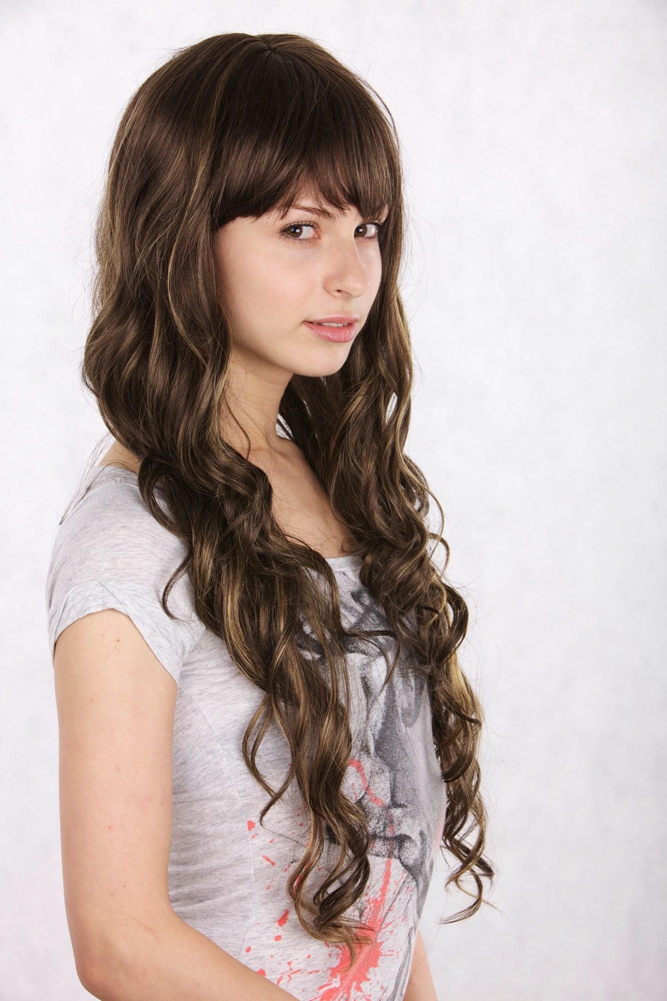 Braun Blonde Haare Mittellang Mittellange Frisuren Braun