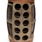 Dandibo Weinregal Weinfass 1486 Beistelltisch Schrank Fass Aus Holz 72cm Weinbar Bar Weinregale Kommoden Kuche Haushalt Wohnen Mobel Wohnaccessoires