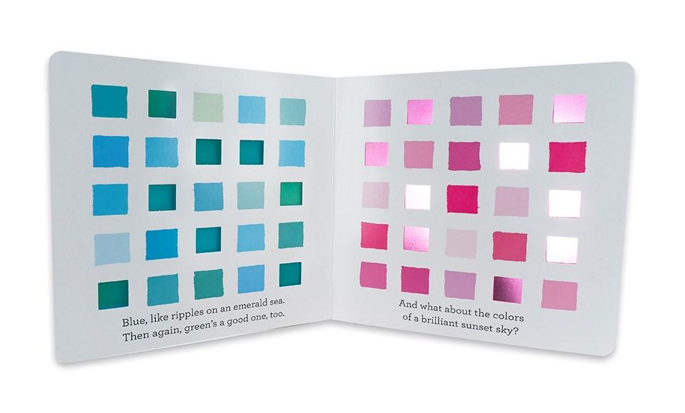 My Favorite Color Picture Book Spread 1