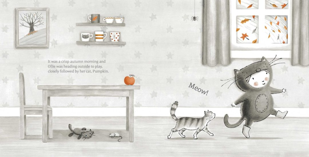 The Little Kitten Picture Book Spread 1