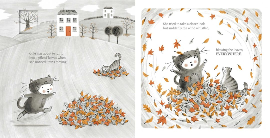 The Little Kitten Picture Book Spread 2
