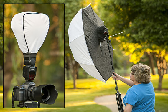outdoor flash photography tips with