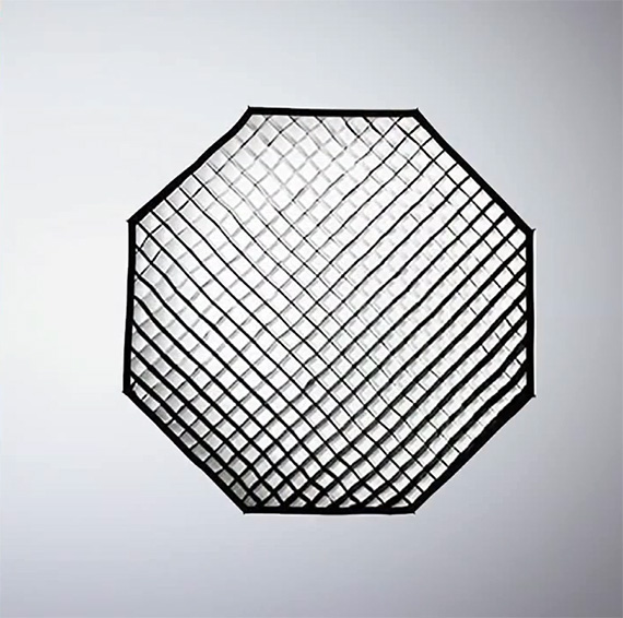 gridded softbox for portrait photography