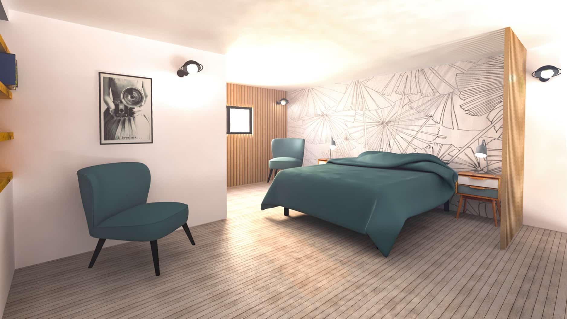 Rendu 3d Chambre Picture Design Picture Design