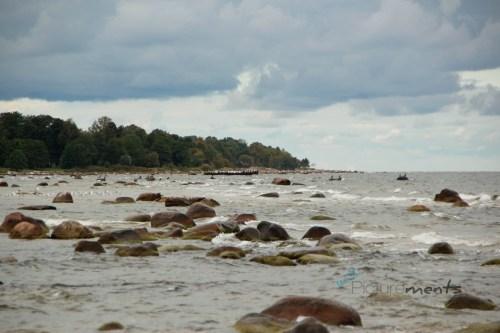 Ostseestrand westlich von Jurmala / Latvia