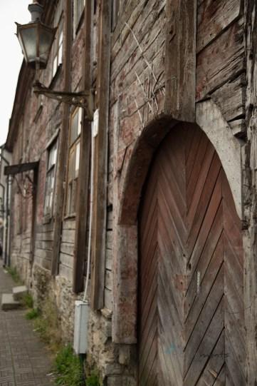 historisches Gebäude in Tallinn - zwischen Verwahrlosung und mystischer Atmosphäre