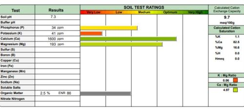 Soil Analysis Reports | PPLM | (804)530-2540 | Green Lawns In VA