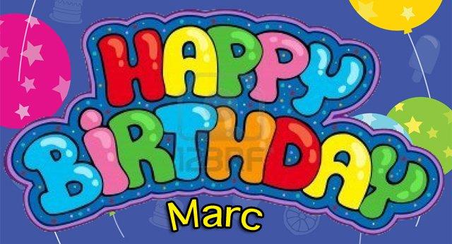 Happy Birthday Marc Poc