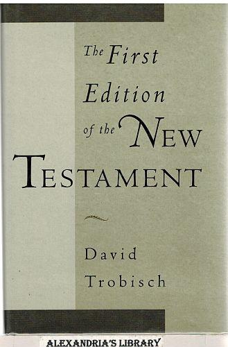 Image result for The First Edition of the New Testament,