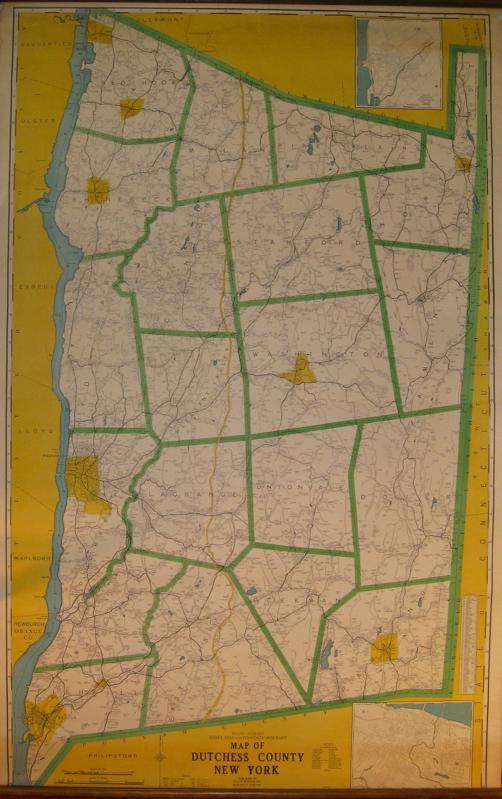 Dutchess Map County Ny