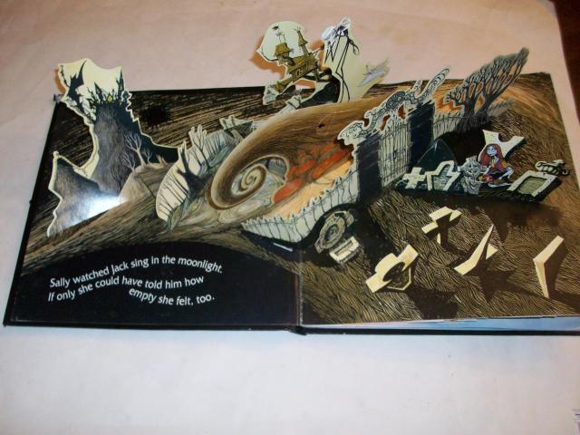 "Tim Burton's ""Nightmare Before Christmas"": Pop-up book by Tim ..."