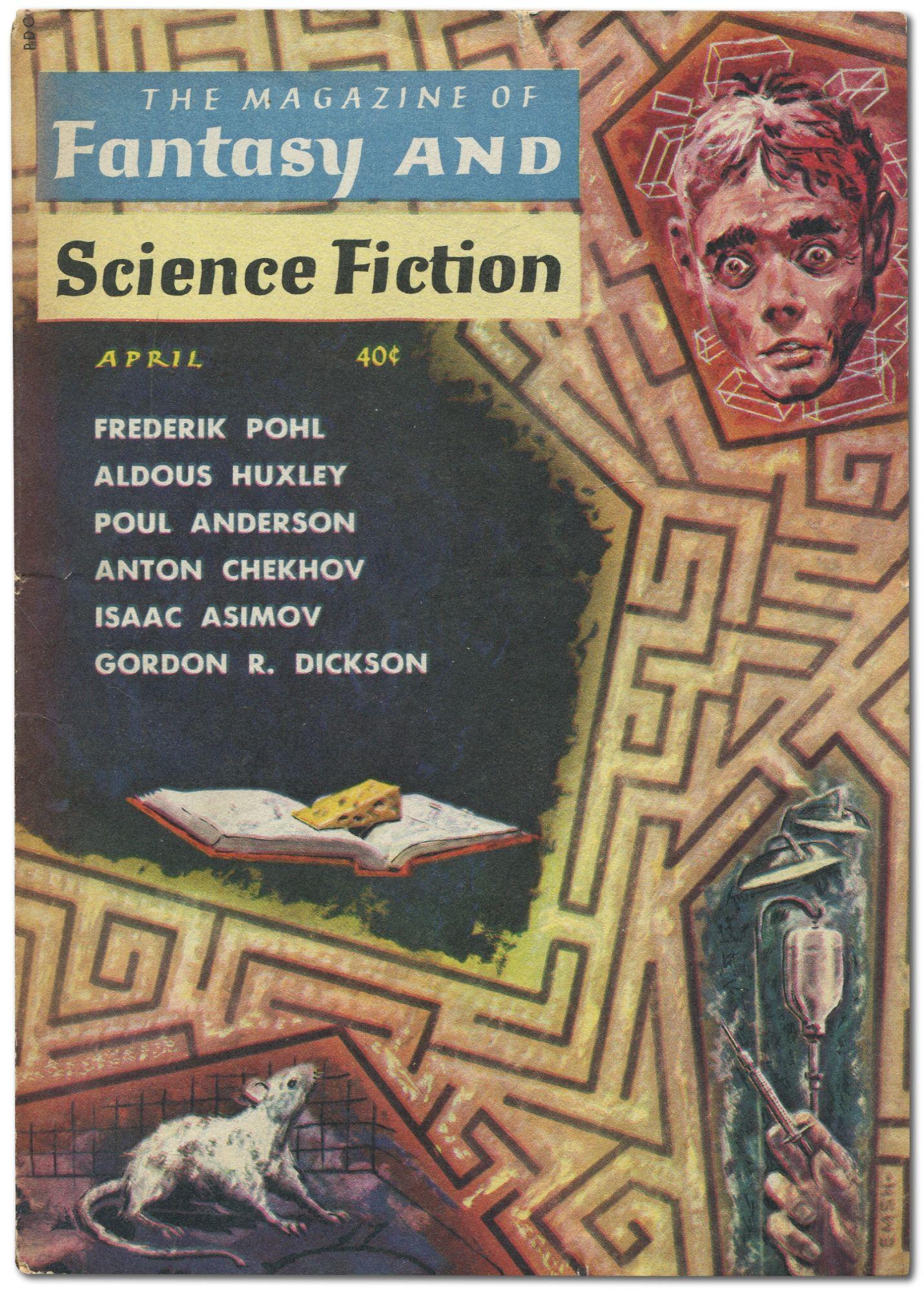 Flowers For Algernon Story In The Magazine Of Fantasy