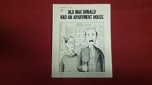 Old Macdonald Had An Apartment House Barrett Judith