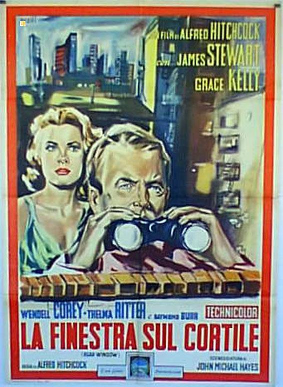 rear window movie poster finestra sul