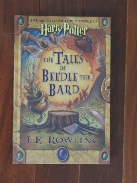 THE TALES OF BEEDLE THE BARD   020    1st EDITION   PRINTING   AS     THE TALES OF BEEDLE THE BARD   020    1st EDITION