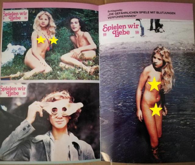 Eva Ionesco Lara Wendel Vintage 1977 Maladolescenza Booklet Eva Ionesco