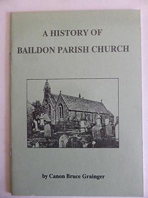 A History of Baildon Parish Church: Grainger, Bruce