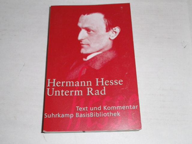 Unterm Rad Text Und Von Hesse Zvab