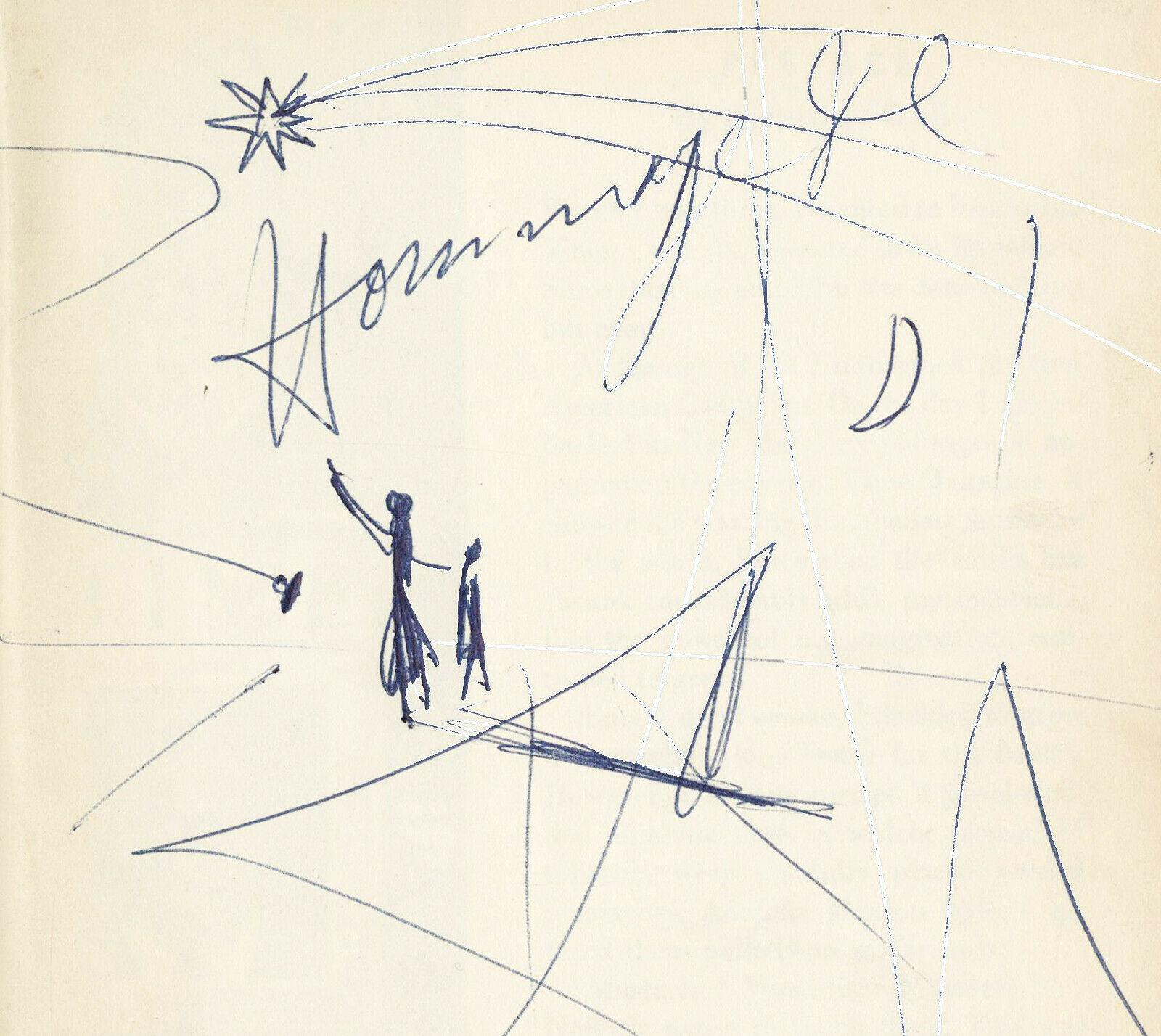 Dali S Mustache Signed By Salvador Dali With A Two Page