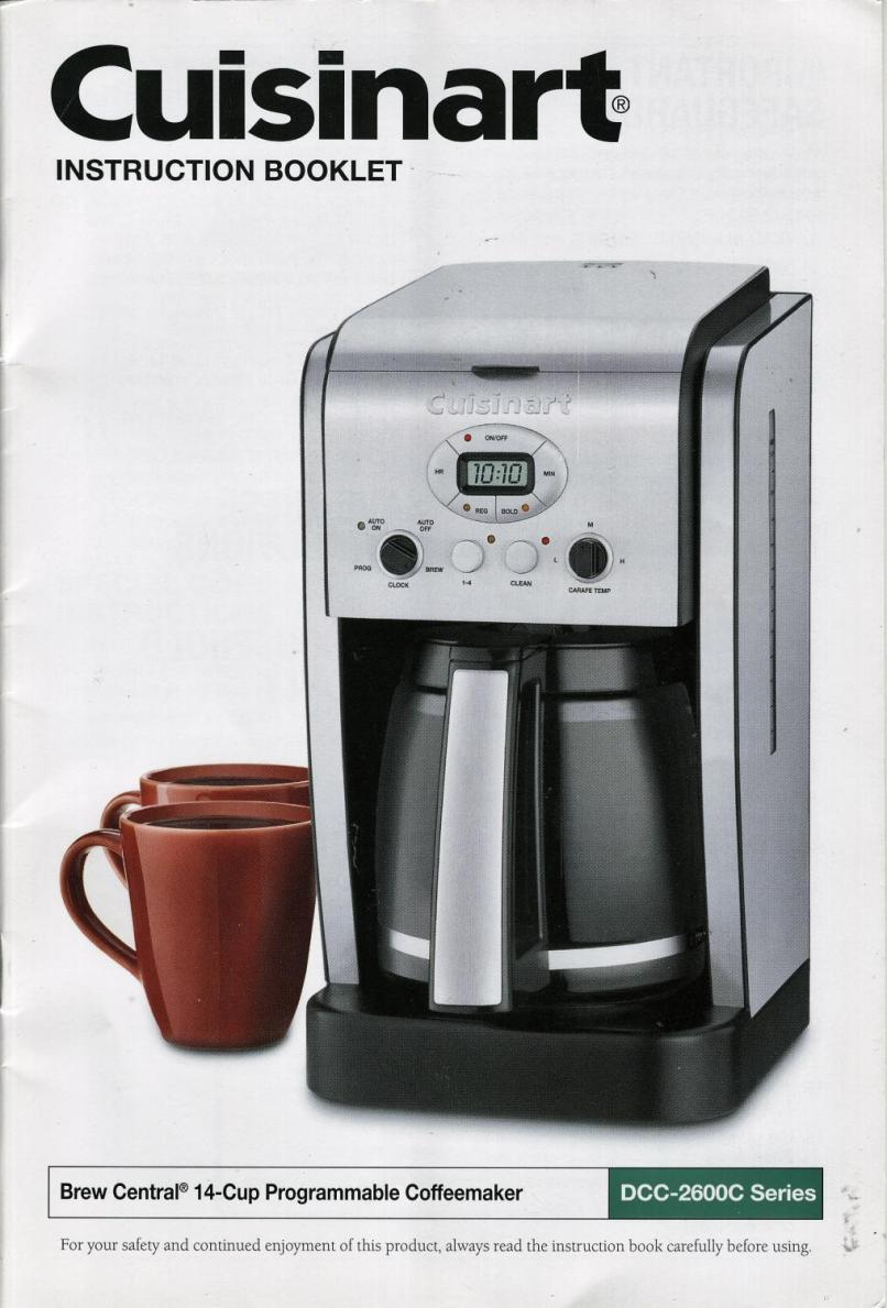 Cuisinart Brew Central 14 Cup