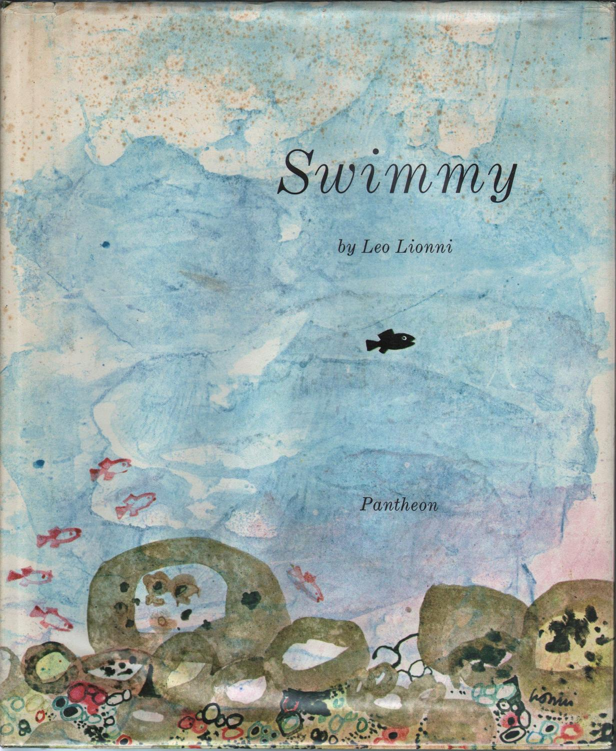 Swimmy By Lionni Leo Pantheon Hard Cover First Edition
