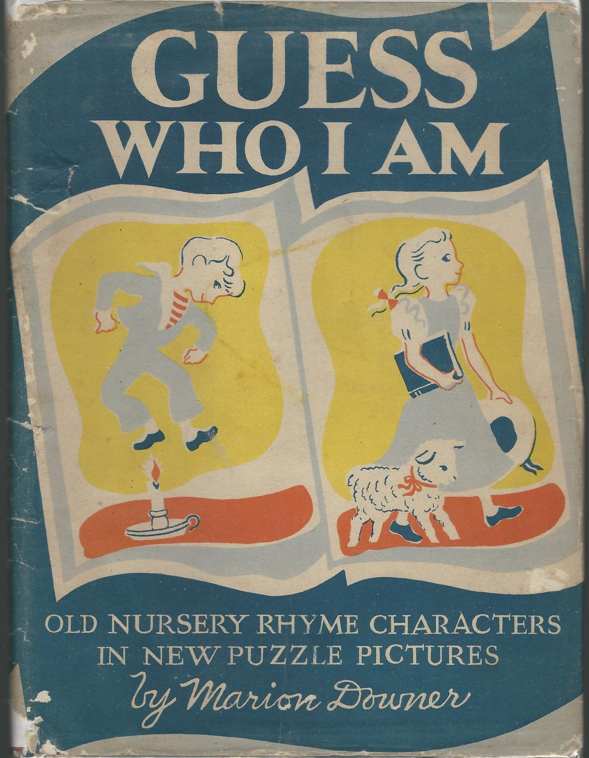 Guess Who I Am Old Nursery Rhyme Characters In New Puzzle