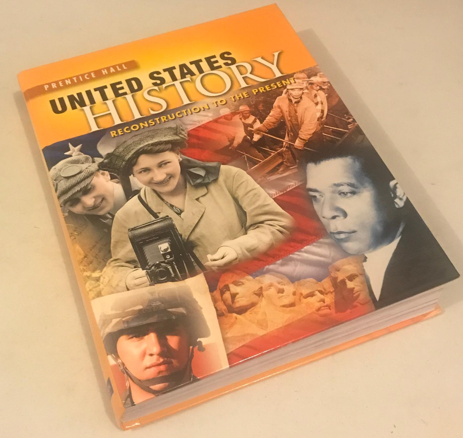 High School United States History Reconstruction To