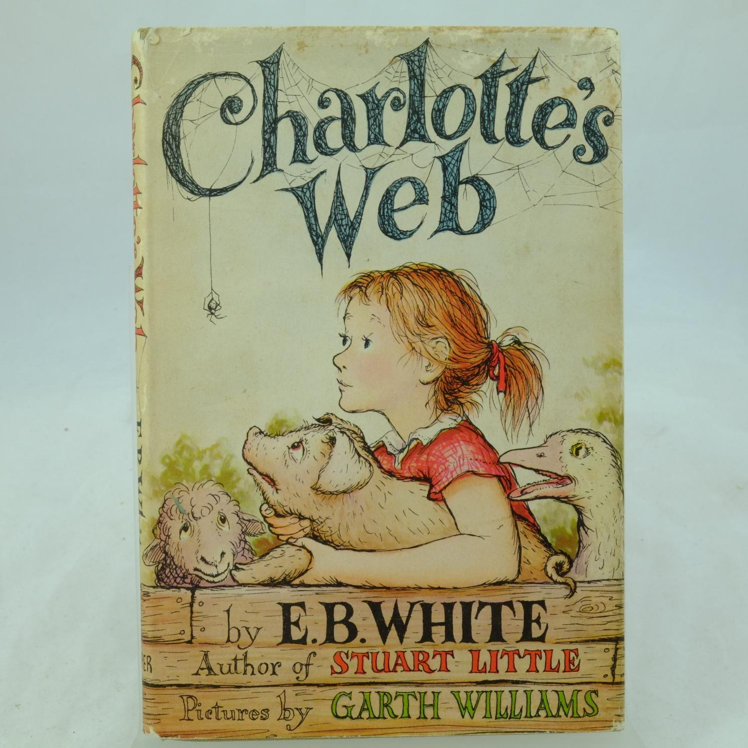 Charlotte S Web By E B White Very Good Hardcover