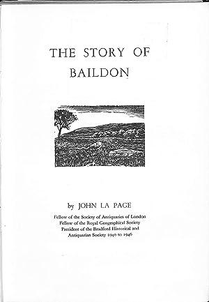 The Story of Baildon: La Page, John