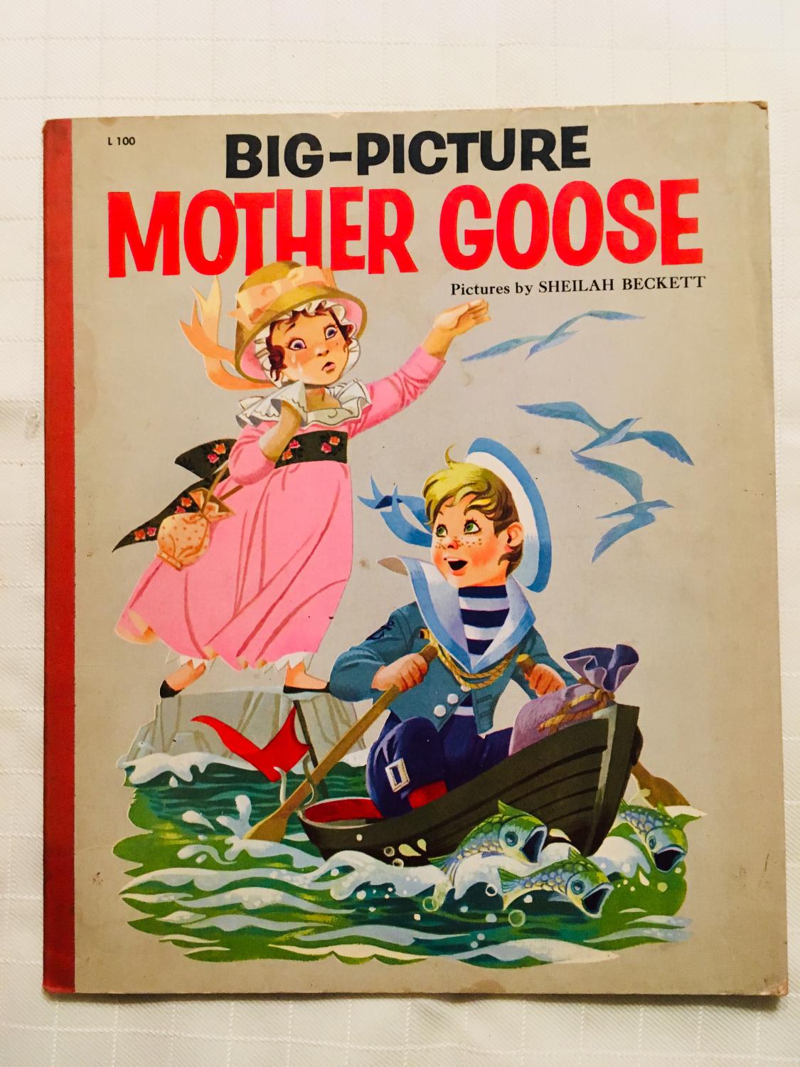 Big Picture Mother Goose By Beckett Sheilah Near Fine