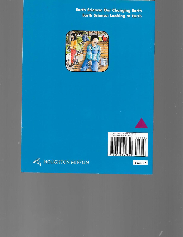 Houghton Mifflin Science California Indepndt Bk Lk Unit C