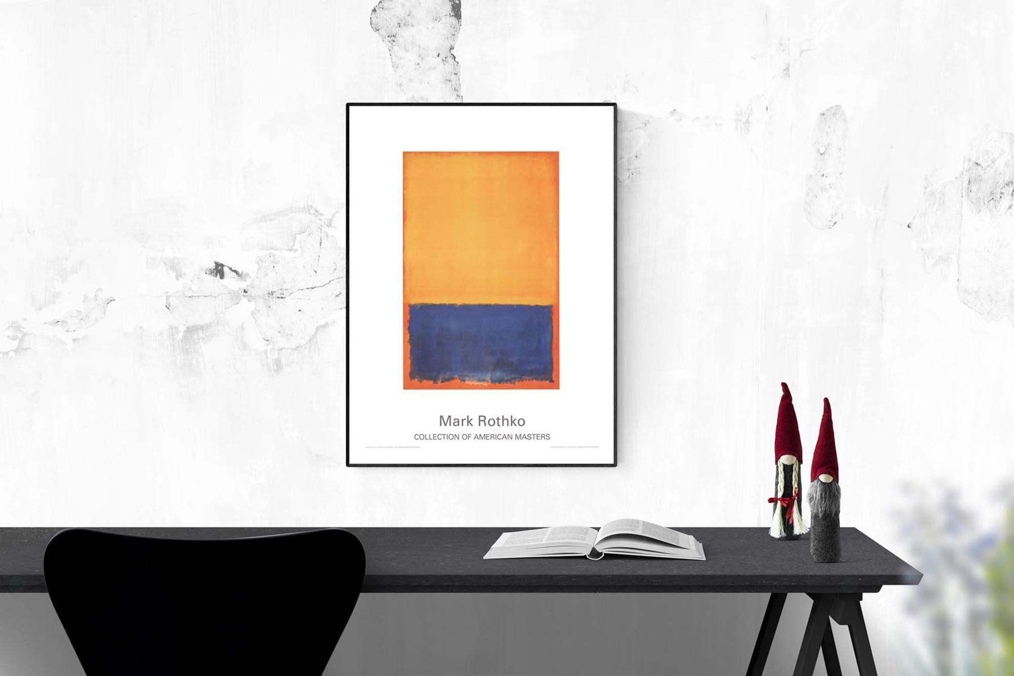 mark rothko yellow blue orange 1955 39