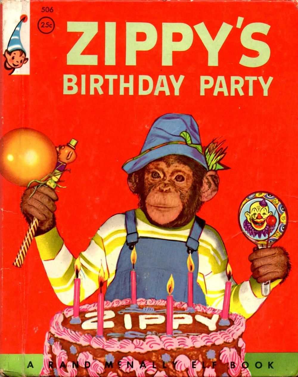 Zippy S Birthday Party A Real Live Animal Book By Ecuyer Lee Poor Hardcover 1955 Book Booth