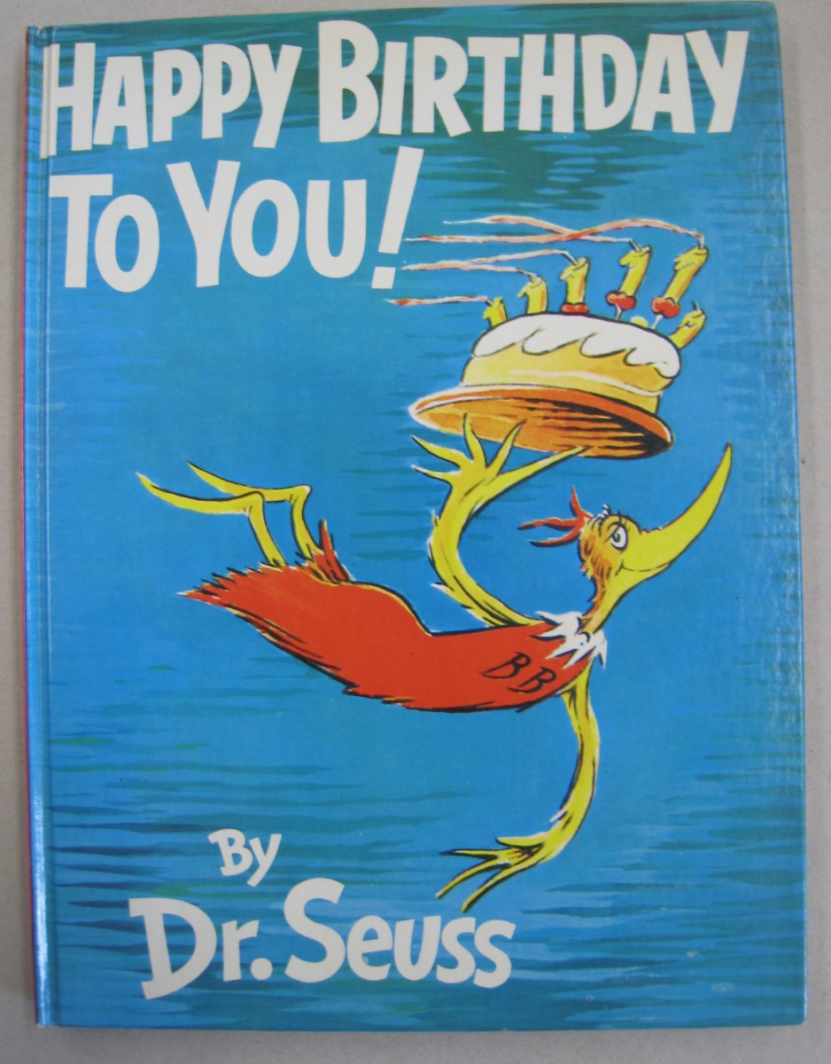 Happy Birthday To You Von Dr Seuss Hardcover 1959 First Edition Midway Book Store Abaa