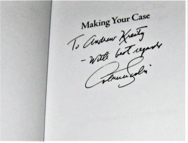 Making Your Case: The Art of Persuading Judges von Antonin Scalia