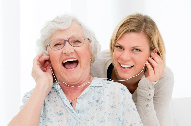 Listening to music with your loved one is a valuable bonding experience.