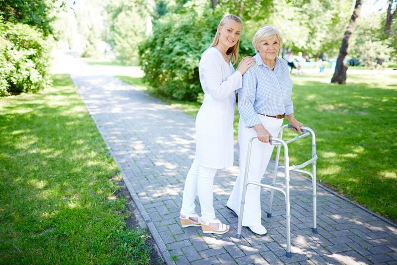 Respite care allows Alzheimer's caregivers to take a short break.
