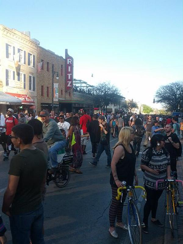 South by Southwest often brings both locals and visitors together.