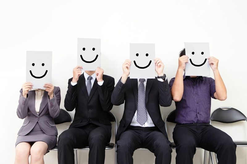 A warm smile can help our trade show staff instil confidence in prospects.