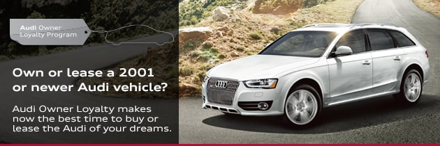 Audi Owner Loyalty Offers For Current Owners In Raleigh