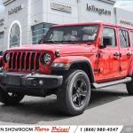 New 2021 Jeep Wrangler Unlimited For Sale At Islington Chrysler Fiat Vin