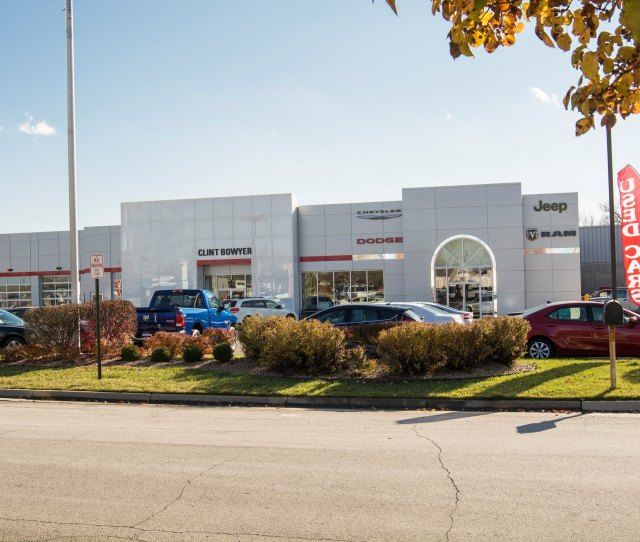 About Clint Bowyer Chrysler Dodge Jeep Ram In Emporia Ks