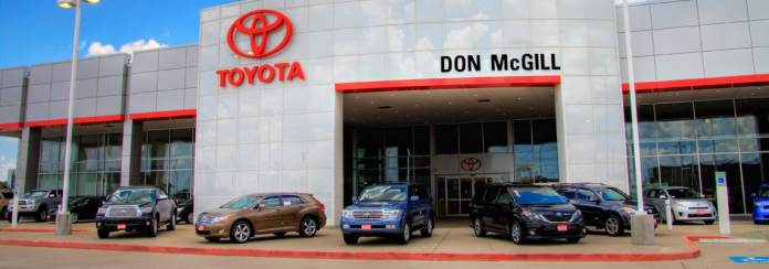 Houston Toyota Dealership Don Mcgill Toyota Near Humble Texas