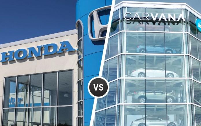 Carvana Vs Car Dealership Comparing Pros Cons