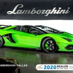 Used 2020 Lamborghini Aventador Svj Roadster For Sale Richardson Tx Stock L1293 Vin Zhwun6zd4lla09244