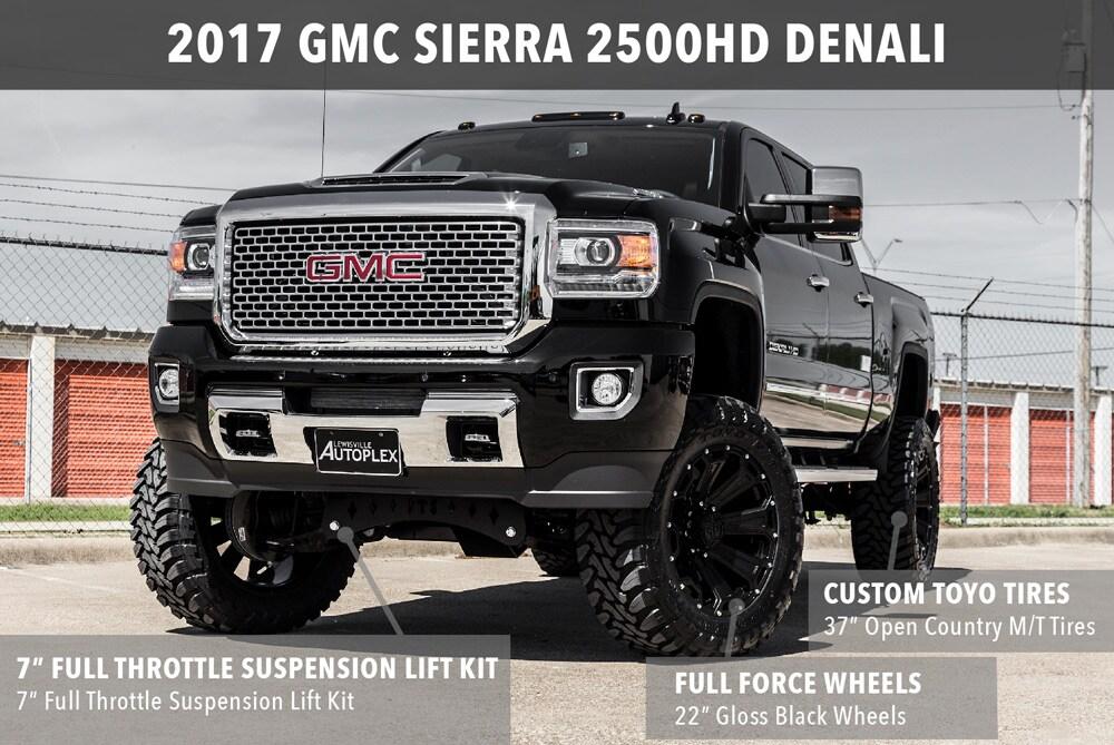 Lift Gmc Sierra Inch Double Cab 4
