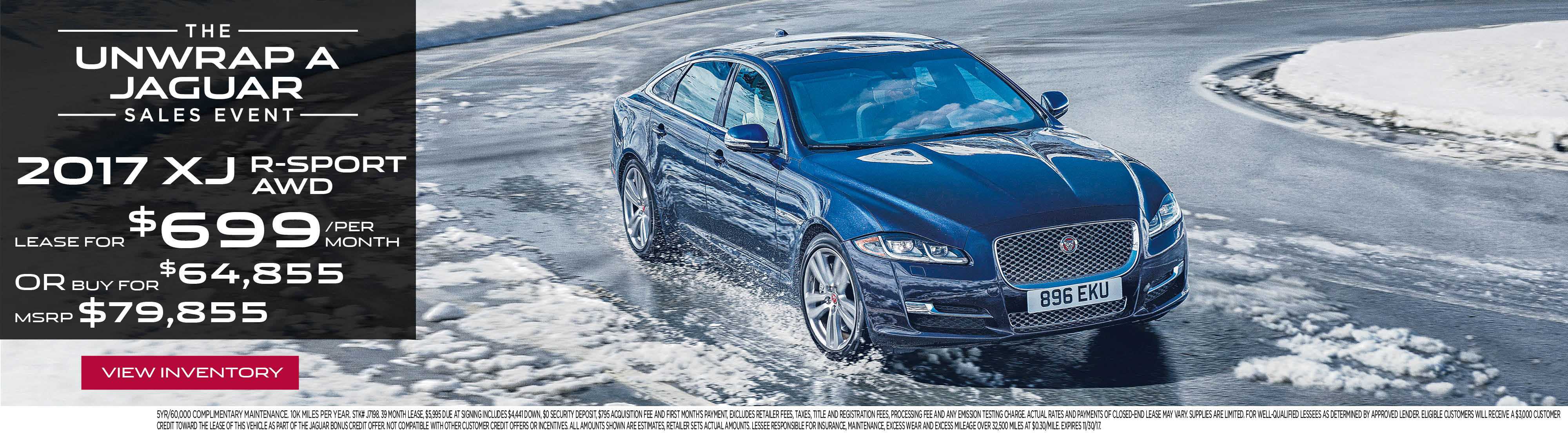 New Jaguar Car & Sedan Specials
